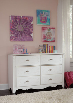 Ashley Dresser/Exquisite/White