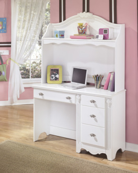 Ashley Bedroom Desk Hutch/Exquisite