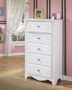Ashley Five Drawer Chest/Exquisite