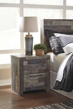 Ashley Two Drawer Night Stand