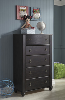 Ashley Five Drawer Chest/Corilyn