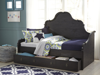 Ashley Daybed Trundle Storage/Corilyn