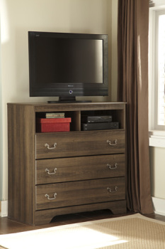 Ashley Media Chest/Allymore/Brown