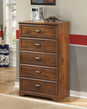 Ashley Five Drawer Chest/Barchan