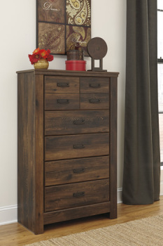 Ashley Five Drawer Chest/Quinden
