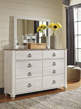 Ashley Bedroom Mirror/Willowton