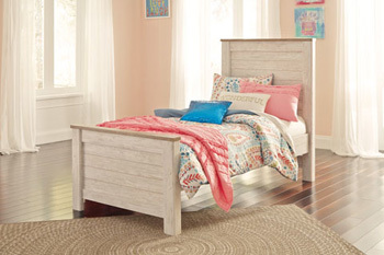 Ashley Twin Panel Footboard/Willowton