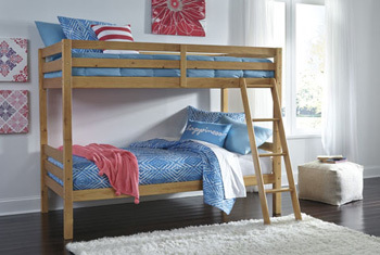 Ashley Twin/Twin Bunk Bed w/Ladder