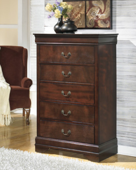 Ashley Chest/Alisdair/Dark Brown