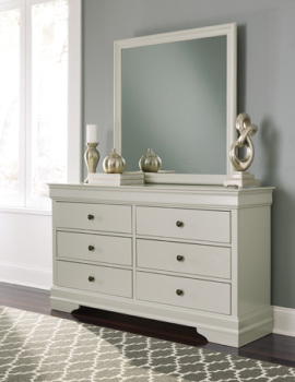 Ashley Bedroom Mirror/Jorstad/Gray