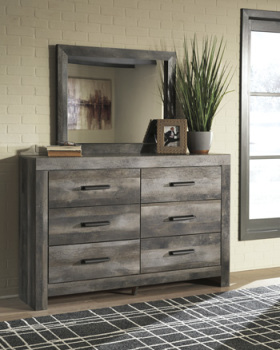 Ashley Bedroom Mirror/Wynnlow/Gray