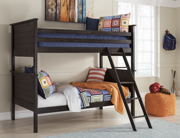 Ashley Twin Bunk Bed Rails and Ladder