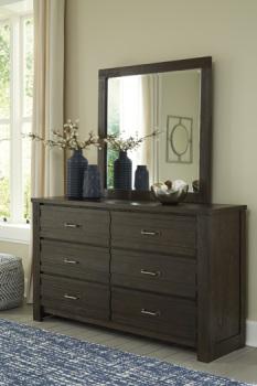 Ashley Bedroom Mirror/Darbry/Brown