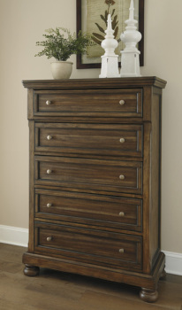 Ashley Five Drawer Chest/Flynnter