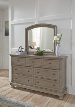 Ashley Bedroom Mirror/Lettner