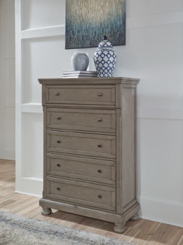 Ashley Five Drawer Chest/Lettner
