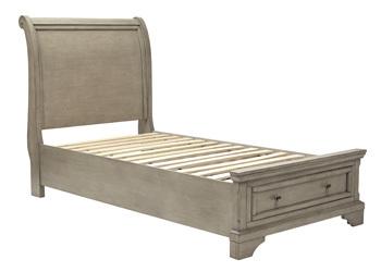 Ashley Twin/Full Bed Rails/Lettner