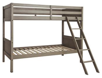 Ashley Twin/Twin Bunk Bed w/Ladder