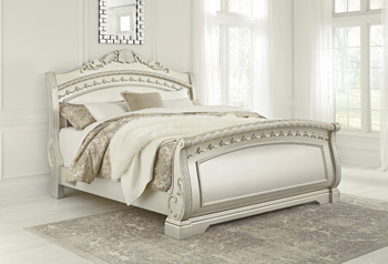 Ashley Queen Sleigh Footboard