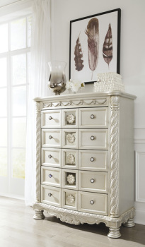 Ashley Five Drawer Chest/Cassimore
