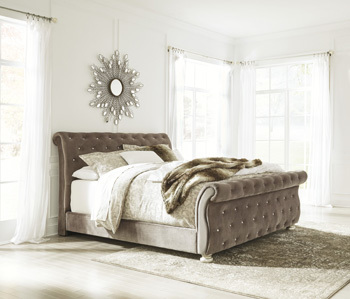 Model: B750-77 | Ashley Queen Upholstered Headboard