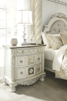 Ashley Three Drawer Night Stand