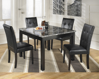 Ashley Square DRM Table Set (5/CN)