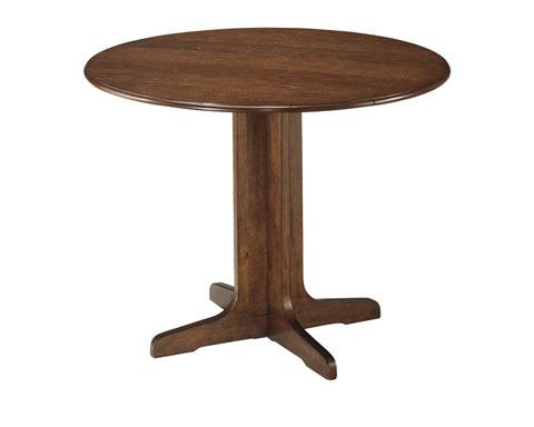 Round Drop Leaf Table/Stuman