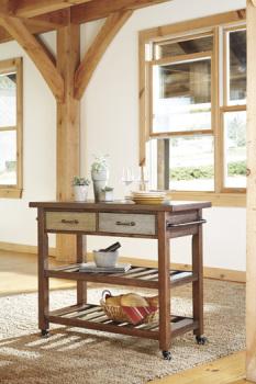 Kitchen Cart/Marlijo/Brown