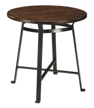 Ashley Round Dining Room Bar Table