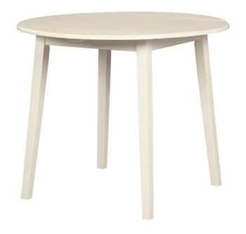 Ashley Round DRM Drop Leaf Table