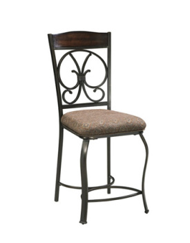 Ashley Upholstered Barstool (4/CN)