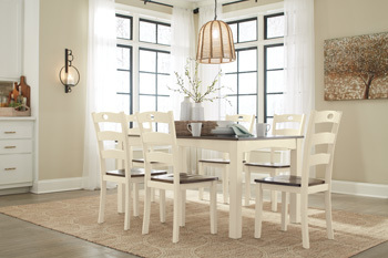 Ashley Dining Room Table Set (7/CN)