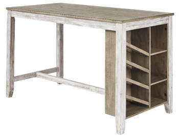Ashley RECT Counter Table w/Storage