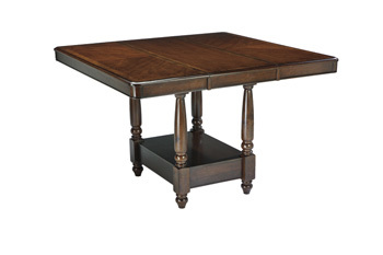 Ashley Dining Room Counter EXT Table