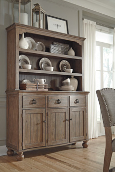 Ashley Dining Room Hutch/Tanshire