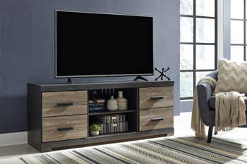 Model: EW0325-168 | Ashley LG TV Stand w/Fireplace Option
