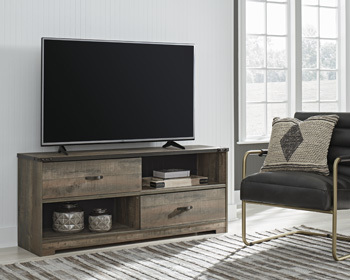 Ashley Large TV Stand/Trinell/Brown