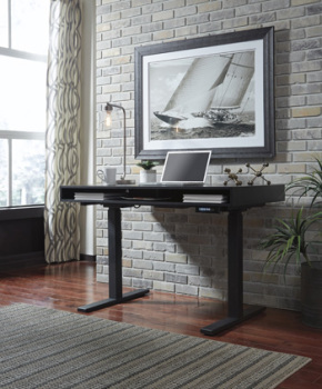 Ashley Adjustable Height Desk/Laney