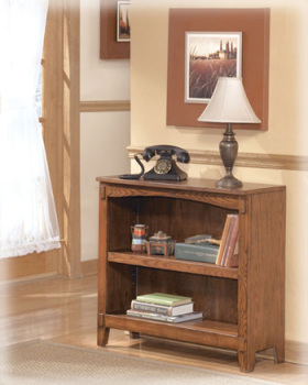 Ashley Small Bookcase/Cross Island