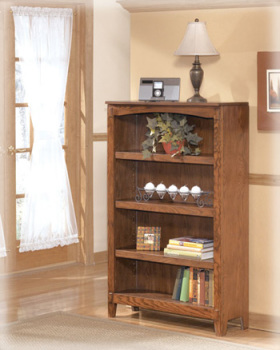 Ashley Medium Bookcase/Cross Island