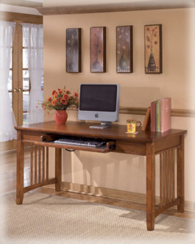 Ashley Home Office Large Leg Desk