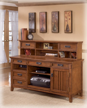 Ashley Home Office Short Desk Hutch
