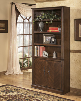 Model: H527-18 | Ashley Large Door Bookcase/Hamlyn
