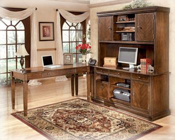 Ashley Home Office Tall Desk Hutch