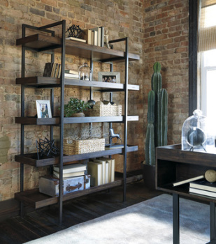 Ashley Bookcase/Starmore/Brown