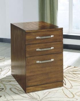 Ashley File Cabinet/Lobink/Brown