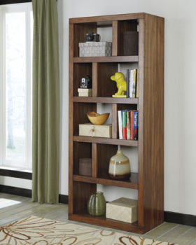 Ashley Bookcase/Lobink/Brown