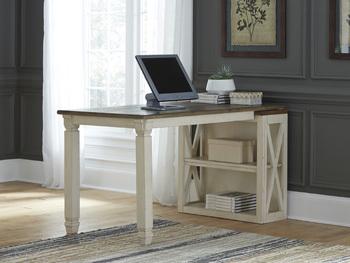bookcase desk return bolanburg