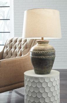 Ashley Terracotta Table Lamp (1/CN)